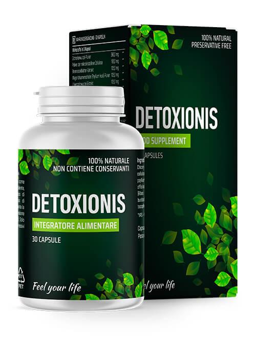 Detoxionis: capsule per la disintossicazione
