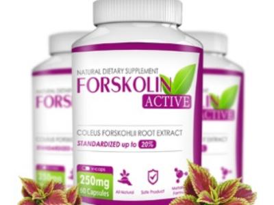 Forskolin Active - capsule per un'efficace perdita di peso