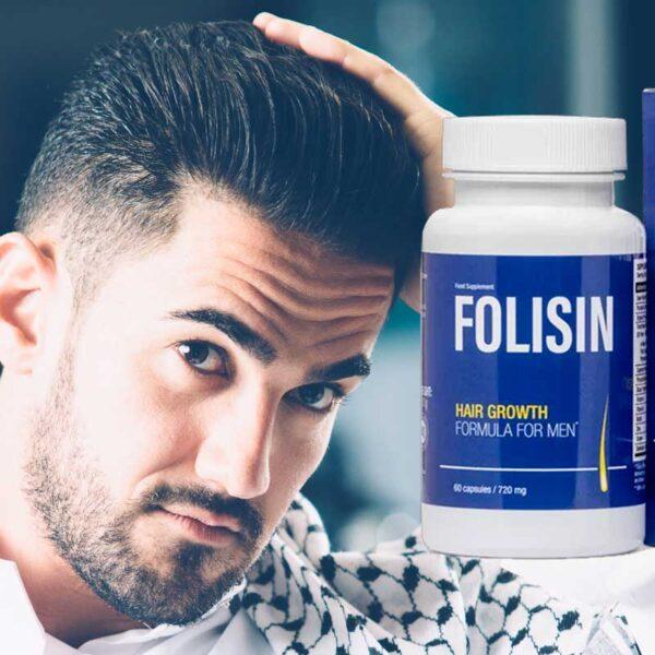 Folisin per la calvizie maschile: prezzo, recensioni e composizione delle compresse