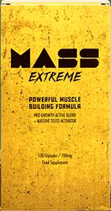Mass Extreme es un suplemento enfocado en mejorar la ganancia de músculos