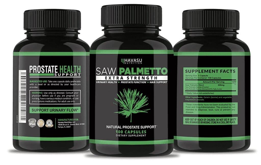 saw palmetto prostate compresse